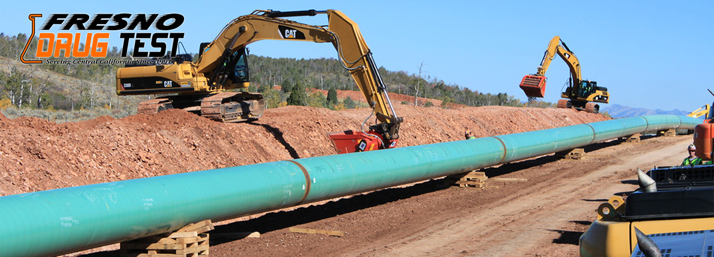 Pipeline Construction Drug Testing